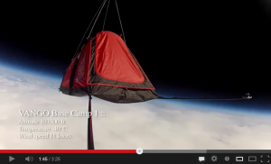 15 Space Camping - First tent in Space