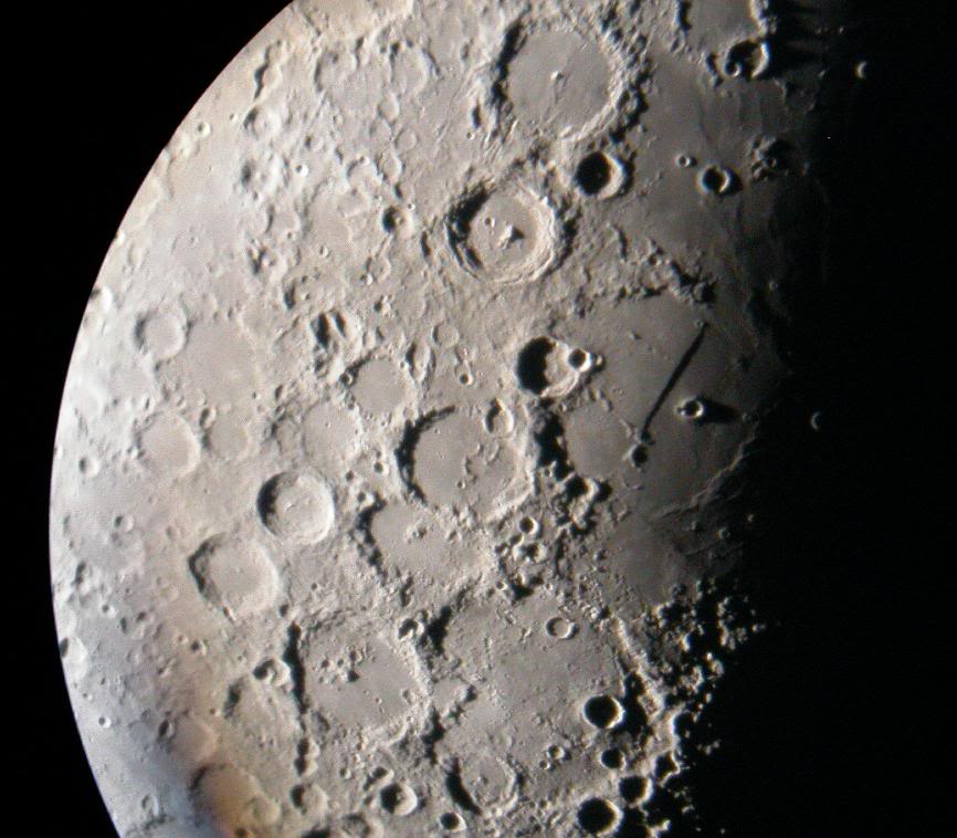 Is the moon an optical illusion the wild heretic - Moon close up ...