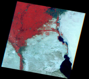 Image 2 Landsat Map East Delta