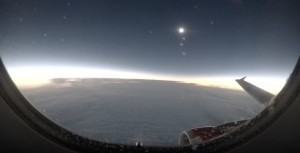 solar eclipse at 11km